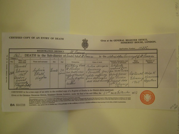 Sylvia_Plath_Death_Certificate